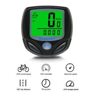 Fahrradcomputer, Blusmart Drahtloser LCD Fahrrad Tachometer Auto Wake Up Backlight PLATZ 3