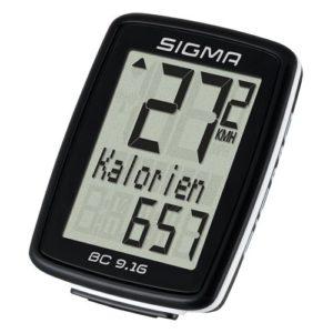Sigma Sport Fahrrad Computer BC 9.16, 9 Funktionen, Maximalgeschwindigkeit platz 3